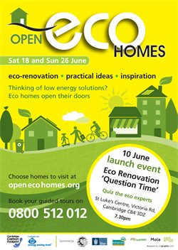 Open Eco Homes poster