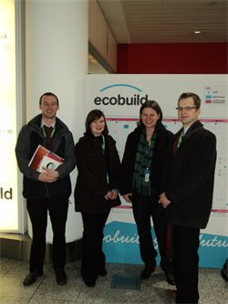 The AC Architects team at Ecobuild