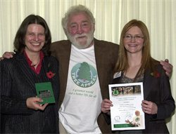 David Bellamy, OBE presents the Green Apple Award