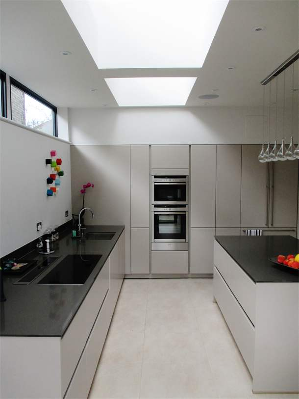 Kitchen & rooflights