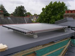 Solar Thermal Panel and Rooflight Humberstone Road